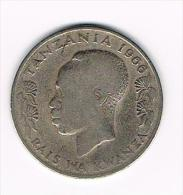 0+  TANZANIA  1 SHILINGI MOJA  1966 - Tanzania