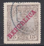 PORTUGAL - Michel - 1910 - Nr 171 - Gest/Obl/Us - Oblitérés
