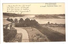 QUELMER SAINT MALO - ILLE ET VILAINE - LES BORDS DE LA RANCE - LA PASSAGERE - VUE PRISE DES SAPINS - Saint Malo