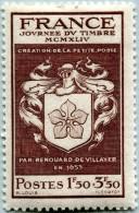 N° Yvert 668 - Timbre De France (1944) - MNH - Écusson Renouard De Villayer (DA) - Nuovi