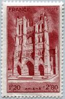 N° Yvert 665 - Timbre De France (1944) - MLH - Cathédrale Amiens (DA) - Nuovi