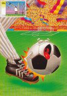 D21532 CARTE MAXIMUM CARD FD 1998 NETHERLANDS - SOCCER COMICS CP ORIGINAL - Soccer
