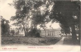 LUNEVILLE  Château Vu Des Bosquets TTBE écrite - Luneville