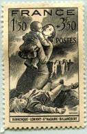 N° Yvert 584 - Timbre De France (1943) - MH - Au Profit Du Secours National (DA) - Nuovi