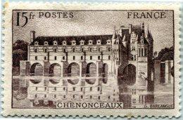 N° Yvert 610 - Timbre De France (1944) - MH - Château De Chenonceaux (DA) - Nuovi
