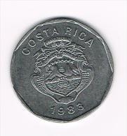 0X  COSTA RICA  20 COLONES  1983 - Costa Rica