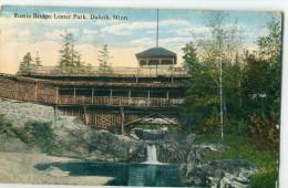 USA / Etats Unis - MN - Minnesota - Duluth : Rustic Bridge, Lester Park - Duluth