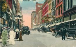 USA / Etats Unis - FL - Florida - Jacksonville : Main Street ( Business Section ) - Jacksonville