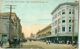 USA / Etats Unis - FL - Florida - Jacksonville : Bay Street Looking West - Jacksonville