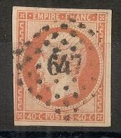PC 647 CASTRES  S L'AGOUT Tarn Sur 40C Napoléon. Cote : 20 EUR - 1849-1876: Classic Period