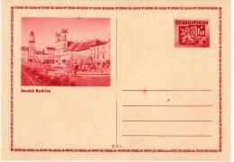 1945 Cdv 75 A   ( Tache Rouge )  Défaut Constant - Cartoline Postali