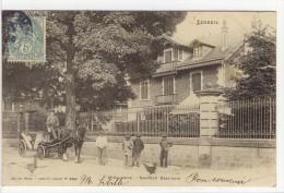 Carte Postale Ancienne Luxeuil - Saint Sauveur. Château Beaudoin - Luxeuil Les Bains