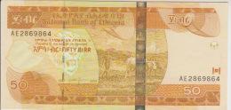 Ethiopia 50 Birr 2004 Pick 51 UNC - Ethiopie