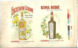 30 SAINT ST HIPPOLYTE DU FORT PUBLICITE KINA ALCOOL CITRON DHOMBRES - France