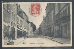 CPA 39 - Poligny, Grande-rue - Poligny