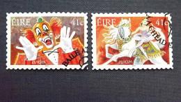 Irland 1434/5 Oo/ESST, EUROPA/CEPT 2002, Zirkus - Usati