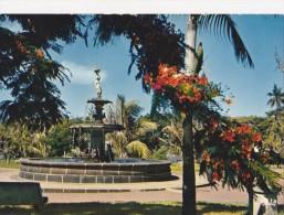 CPM La Réunion, Saint-Pierre La Fontaine Dans Les Jardins - Saint Pierre