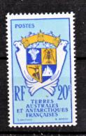 TAAF    15  Armoiries 1959 63 Neuf ** MNH Sin Charmela Cote 33 - Französische Süd- Und Antarktisgebiete (TAAF)
