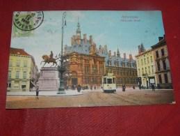 ANTWERPEN - ANVERS  -   Nationale Bank  -  1912  -  (2 Scans) - Antwerpen