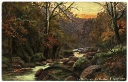 ON THE DARGLE, CO. WICKLOW / ARTIST - E. LONGSTAFFE - Wicklow