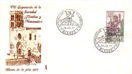 8° EXPOSICION DEL LA SOCIEDAD FILATELICA Y NUMISMATICA 1977 BLANES  (FR0108) - España