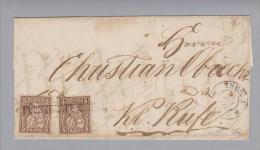 Heimat GR Fürstenauerbrück (Samnaun) 1866-07-14 Brief über Thusis Nach Chur - Lettres & Documents