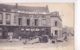 78 / LIMAY MANTES / L ARRET FORCE / ACCIDENT / HOTEL RESTAURANT CLEMENT - Limay