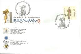IBEROAMERICA  98  EXPOSIÇÃO   FILATELICA  INTERNACIONAL - Ongebruikt