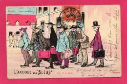 Humoristique, L'Arrivée Des Bleus, (E. A., Paris) - Humour