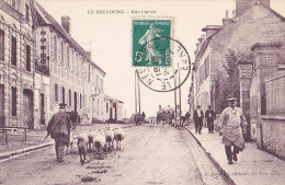 27 / LE NEUBOURG / RUE CARNOT/ TRES BEL AFFRANCHISSEMENT - Le Neubourg