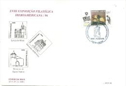 XVIII  EXPOSIÇÃO  FILATELICA  IBEROAMERICANA/96 BRASIL - Ongebruikt