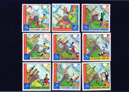 1974 Guinea Equatoriale - Campionati Mondiali In Germania - 1974 – Germania Ovest