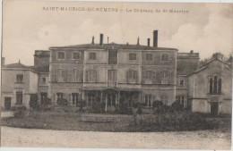 CPA 01 SAINT MAURICE DE REMENS Château - Francia