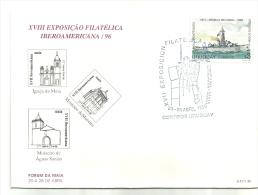 XVIII  EXPOSIÇÃO  FILATELICA   IBEROAMERICA/96  URUGUAY - Ongebruikt