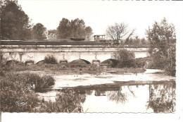 PARGNY SUR SAULX  Le Pont Du Canal Et La Saulx ,péniche - Pargny Sur Saulx