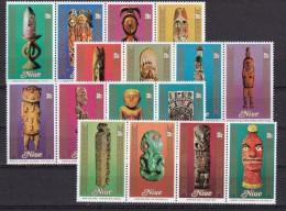 NIUE - N°Y&T - Série 277/92 - Les 16 Valeurs - Festival Des Arts Du Pacifique   - N** - Niue