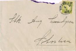 15927. Carta YTTERAN (Suecia) Sverige 1918 - Schweden