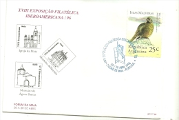 XVIII   EXPOSIÇÃO  FILATELICA  IBEROAMERICANA /96 - Ongebruikt