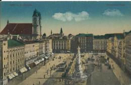 AK 0291  Linz An Der Donau - Franz-Josef-Platz / Verlag Seibt Um 1918 - Linz
