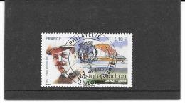 FRANCE 2015.GASTON CAUDRON (1882-1915 ) TIMBRE GOMME CACHET ROND SUR TIMBRE NEUF. POSTE AERIENNE.N° 79 - Poste Aérienne