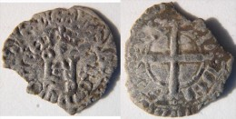 Bourgogne Côte D´Or Auxonne 1340 Maille à Lécu De Bourgogne Ancien Eudes IV Duc De Bourgogne - 476-1789 Monnaies Seigneuriales