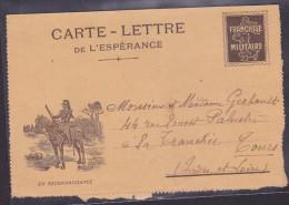 Guerre 1914-1918 - Lettre - Marcophilie (Lettres)