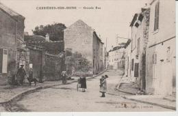 Carrières Sur Seine-Grande Rue.Edit.Collin. - Carrières-sur-Seine