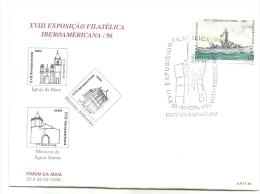 XVIII  EXPOSIÇÃO  FILATELICA   IBEROAMERICANAS /96  URUGUAY - Ongebruikt