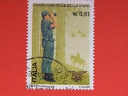 ITALIA USATI 2002 - CORPO FORESTALE DELLO STATO - RIF. G 1861 LUSSO - 6. 1946-.. Repubblica
