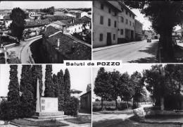 SALUTI DA POZZO (PN??) - VEDUTINE - F/G - V:1972 - Pordenone