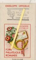 Suisse Lausanne PHILATELE ROMANDE FOIRE FLAMME TEMPORAIRE DU 4 5/1947 - Andere