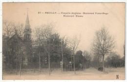92 - NEUILLY - Chapelle Anglaise - Boulevard Victor-Hugo - Boulevard Bineau - Neuilly Sur Seine