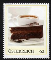 ÖSTERREICH 2014 ** Sachertorte, Tart - PM Personalized Stamp MNH - Ernährung
