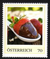 ÖSTERREICH 2014 ** Erdbeeren  Schokofondue - PM Personalized Stamp MNH - Ernährung